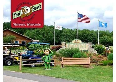 Jellystone Park in Warrens, Wisconsin!  So fun!!!