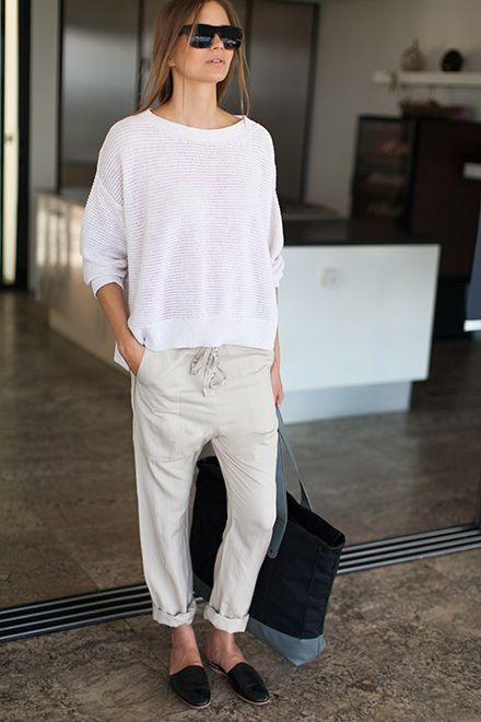 drop-crotch slouch pant | Emerson Fry                                                                                                                                                                                 More