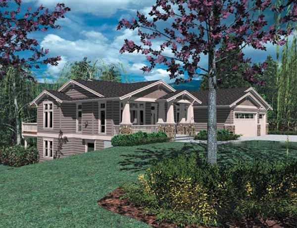 Pin by westhome planners ltd on view our top selling for House plans for hillside lots