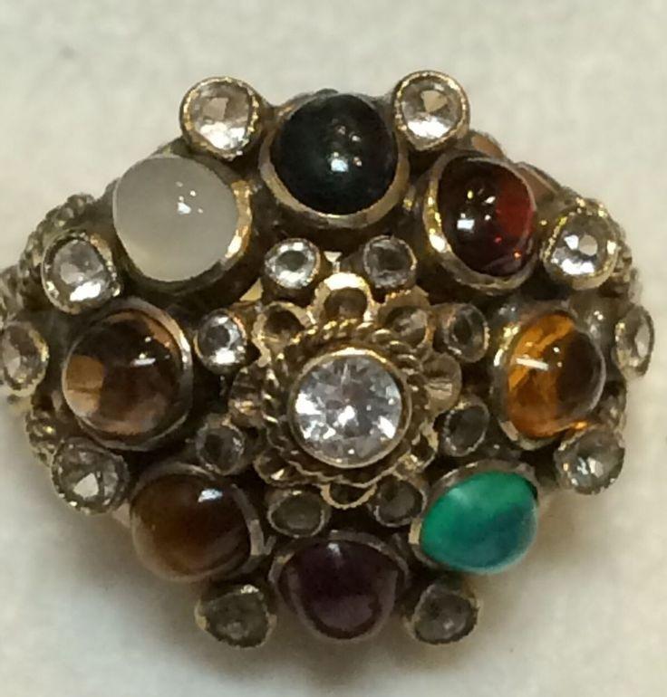 Vintage Siam Princess Ring