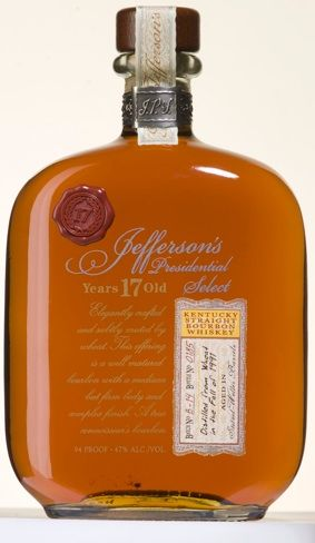 It's aged 17 years and it's Kentucky Bourbon so... you're gonna have a great time. Pairs well with a Henry Clay cigar.