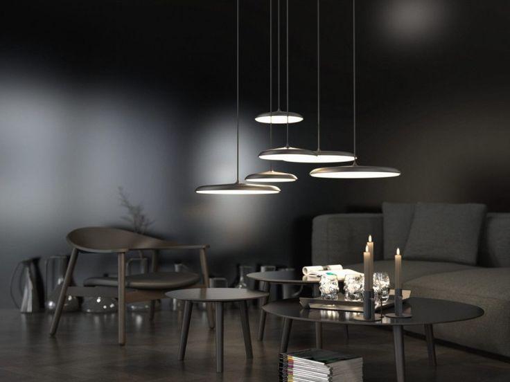 Design For The People Artist 40 Pendelleuchte LED 1460lm, Schwarz Superflach