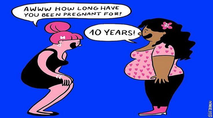 """Biliyor muydun ? /// Cecile Dormeau'nun Gözünden Alışık Olmadığınız Çizimlerle """"Kadın Olmak"""""""