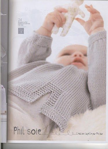 Knitting Patterns Phildar : 11 best images about baby on Pinterest Free pattern, Easy peasy and Little ...