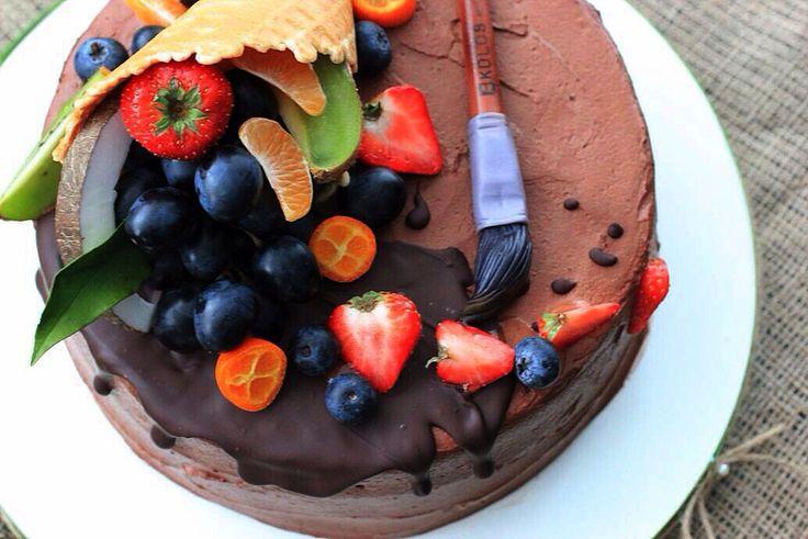 Торт для художника