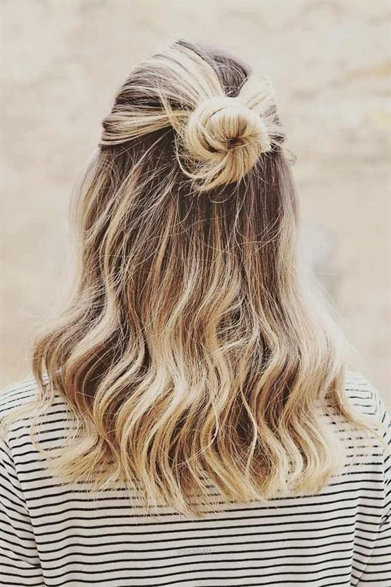 Einfache schnelle Frisuren für geschäftige Morgen ★ Mehr sehen: glaminati.com