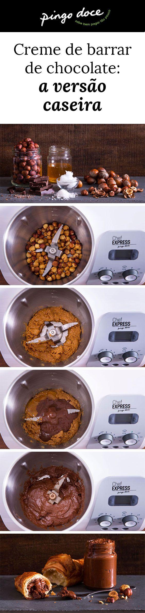 Se há casamento perfeito é o do chocolate com a avelã. Concilie estes dois ingredientes preparando este delicioso creme de chocolate e avelã caseiro.