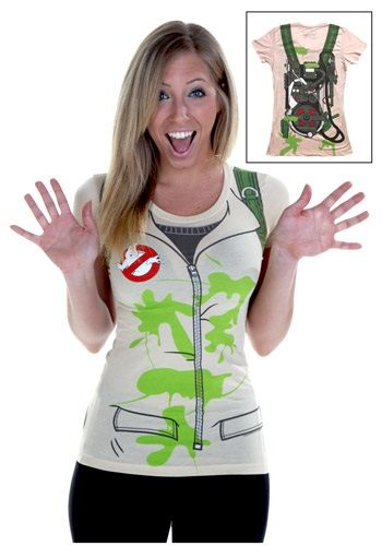 Womens Costume Ghostbusters T-Shirt, I soooo want this!!