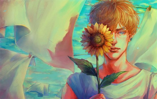Sunflower by superkokia