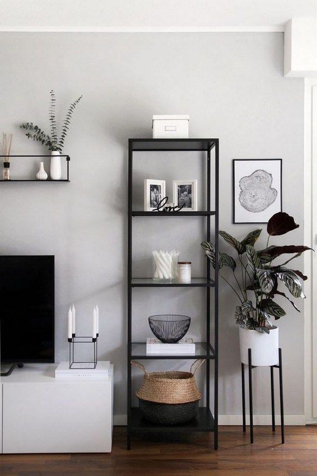 51 Brilliant Solution Small Living Room Decorating And Remodel In 2020 Black And White Living Room Decor Small Apartment Decorating Living Room White Living Room Decor #remodeling #small #living #room
