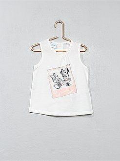34de3b0cc Niña 0-36 meses - Camiseta sin mangas con estampado de  Minnie ...