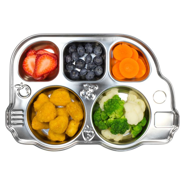 Innobaby Din Din Stainless Steel Bus Platter Price: Was $24.95 Now $ 18.95  Make meal time a little more fun for your fussy eater with the Din Din Smart Stainless Steel Bus Platter! Five separate compartments for five different food groups and to stop food from sliding or mixing.  https://www.littlebooteek.com.au/product/innobaby-din-din-stainless-steel-bus-platter