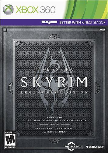 The Elder Scrolls V: Skyrim Legendary Edition - Xbox 360, Multi