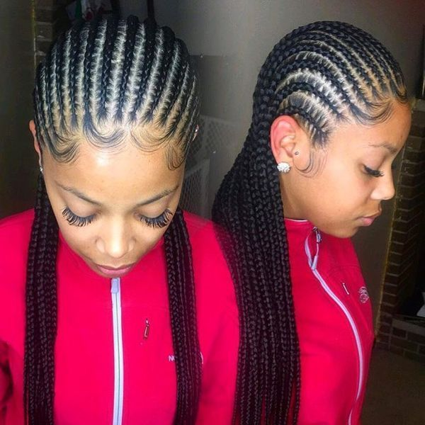 STYLECASTER | Protective Hairstyles to Try | Straight Back Cornrows #haircareasda, #HairCareBrands
