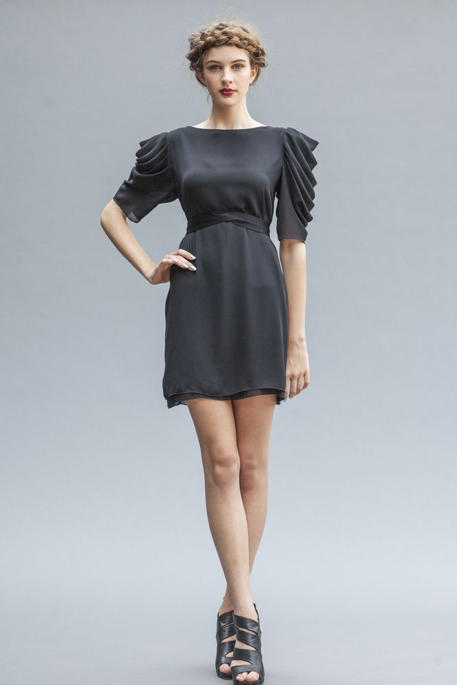 The feminine and fashionable Venus dress, by Elika In Love. Shop the look www.elikainlove.com