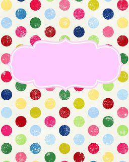 to help organize... Maybe I Should Try....: Freebie! Cute Binder Covers