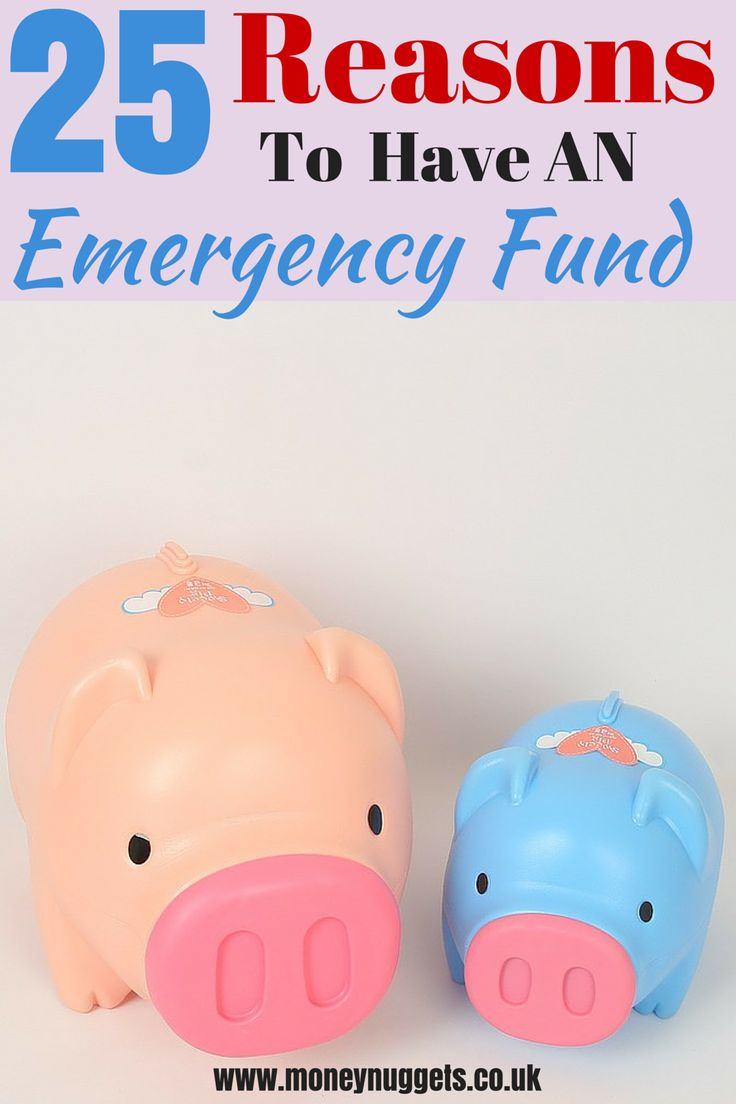 Think you have it all covered? No matter how prepared you think you are, here are 25 unexpected reasons to have an emergency fund to fall back on.