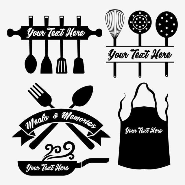 أداة الطبخ مجموعة عنصر المطبخ مشبك صور المتجهات مع المواد Png Cooking Tool Set Kitchen Tool Set Cooking Icon