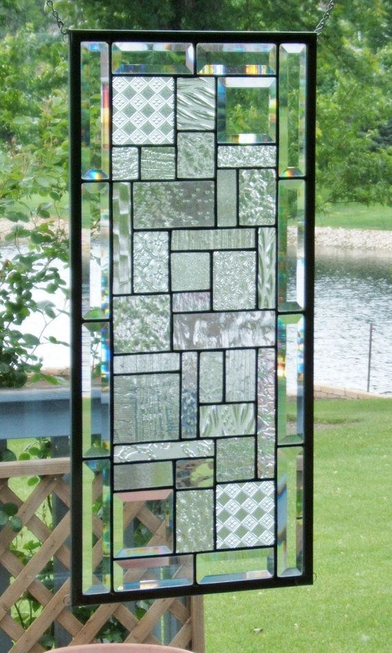 Clear Leaded Glass : Best images about clear glass panels on pinterest