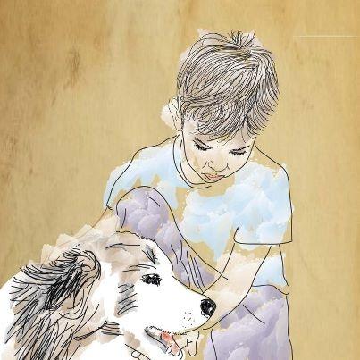 Dante, mi hijo. Ama a los animales por sobretodo