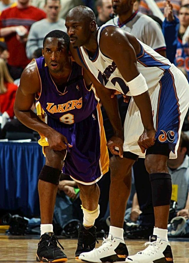 Michael Jordan Washington Wizards Kobe Bryant Los Angeles Lakers