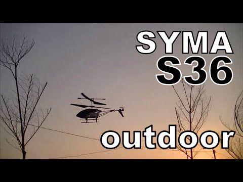 SYMA S36 OUTDOOR TEST | terbang di luar ruangan | syma s36 2.4G terbaru