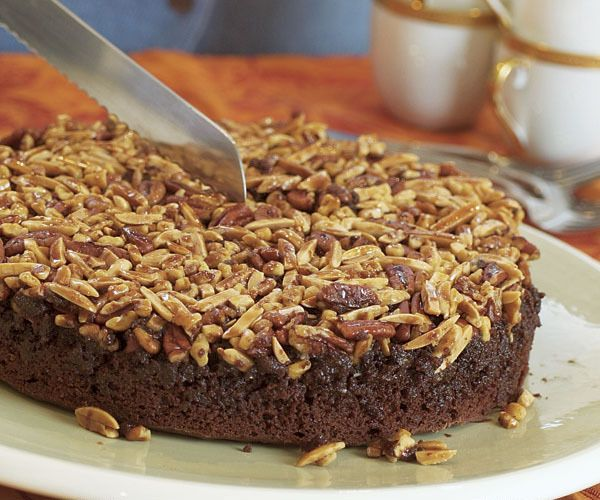 Chocolate Nut Upside-Down Cake by Fine Cooking | American Desserts ...
