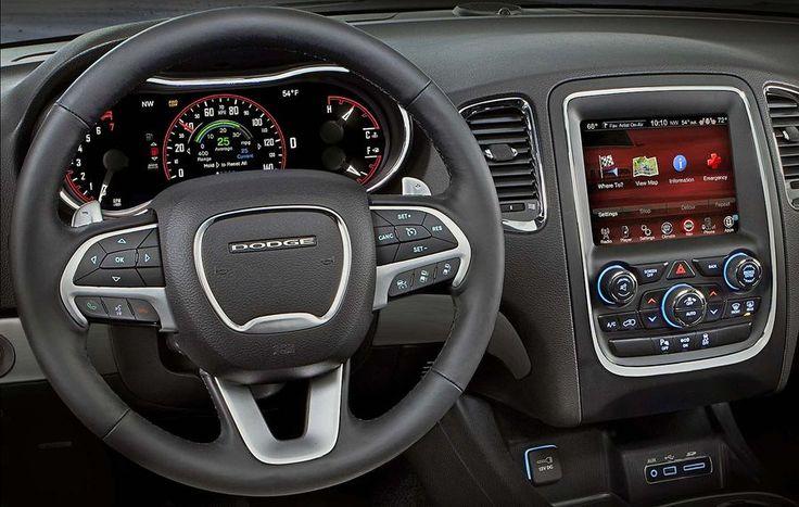 2014 Dodge Durango Citadel Interior | New Dodge Durango 2014 at the New York Auto Show | www.carskings.com