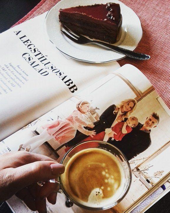 """Kedvenc Magazinom, kávé és süti, """"vendégségben"""" a Beleznay Család"""