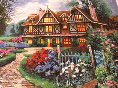 """UNTITLED"" (Spring house By Anatoly Metlan MINT Handsigned AP EDITION $10.67 Paid after auction"