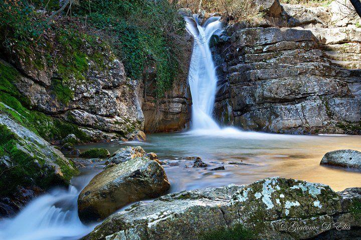 "Waterfall "" U uattenniere""  Loc. Montagna, San Fele Potenza (Italy)"