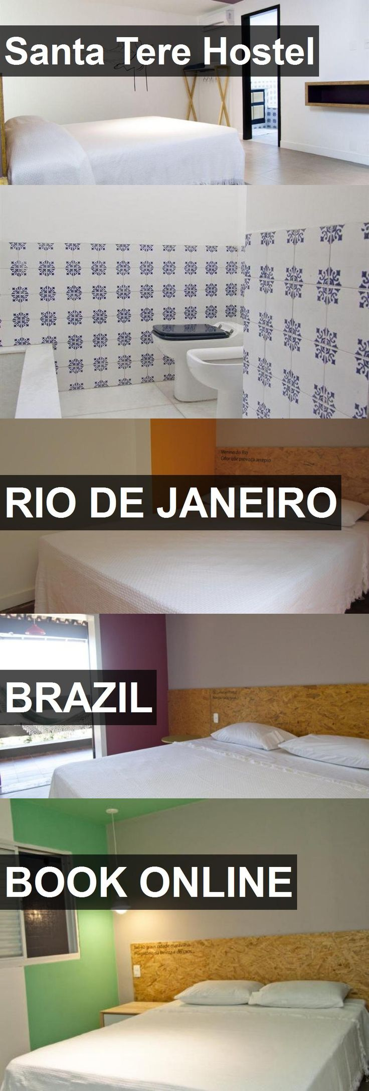 Hotel Santa Tere Hostel in Rio De Janeiro, Brazil. For more information, photos, reviews and best prices please follow the link. #Brazil #RioDeJaneiro #SantaTereHostel #hotel #travel #vacation
