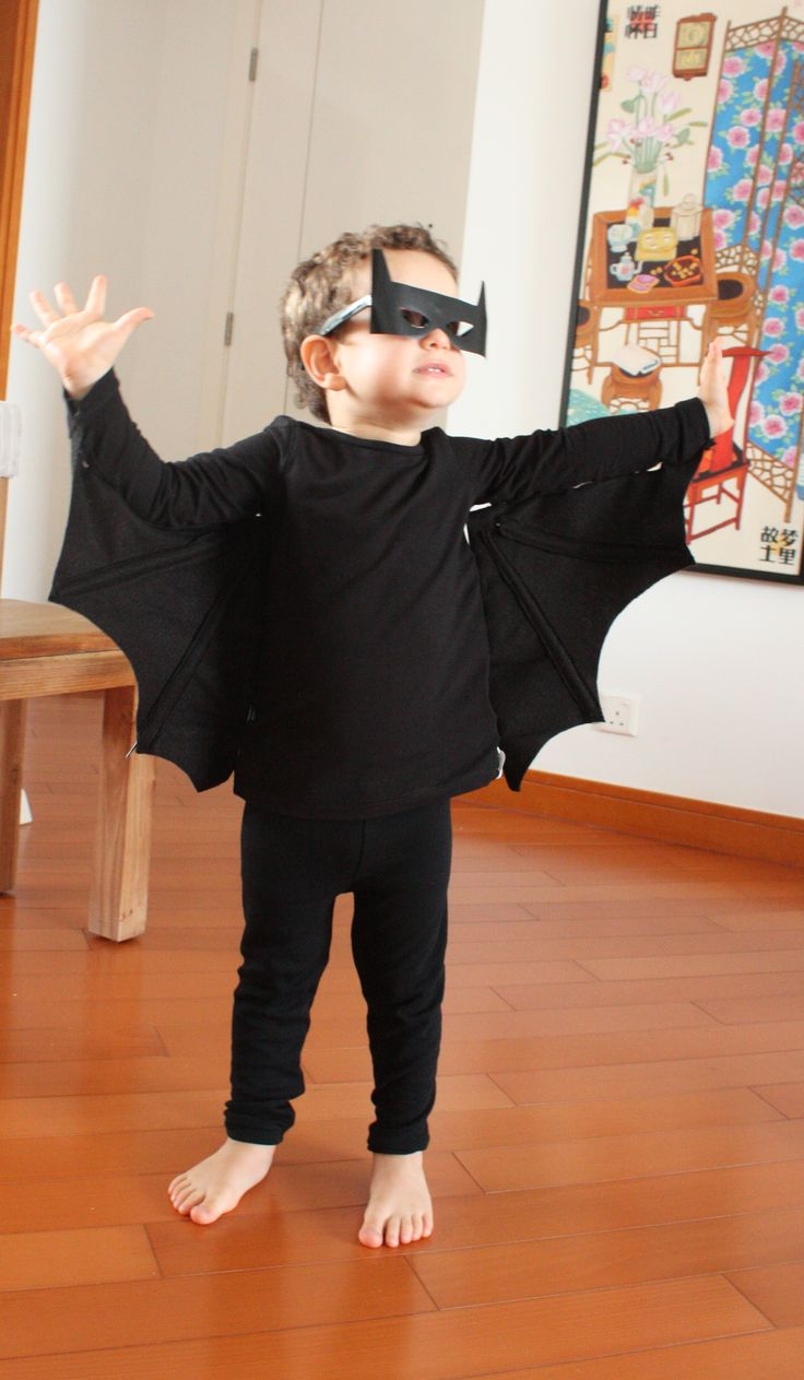 halloween costume diy bat diy hallaween costumes for. Black Bedroom Furniture Sets. Home Design Ideas