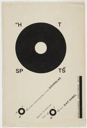 Piet Zwart - Hot Spots, 1926