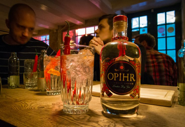 .......#Opihr Gin. Just tastes so damn good