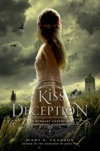 """HEPL staff review of The Kiss of Deception. """"Princess Lia's life has been planned out for her from the day she was born.  As the first daughter, she's expected to have the gift of sight and her hand has been promised to a prince she has never met."""""""