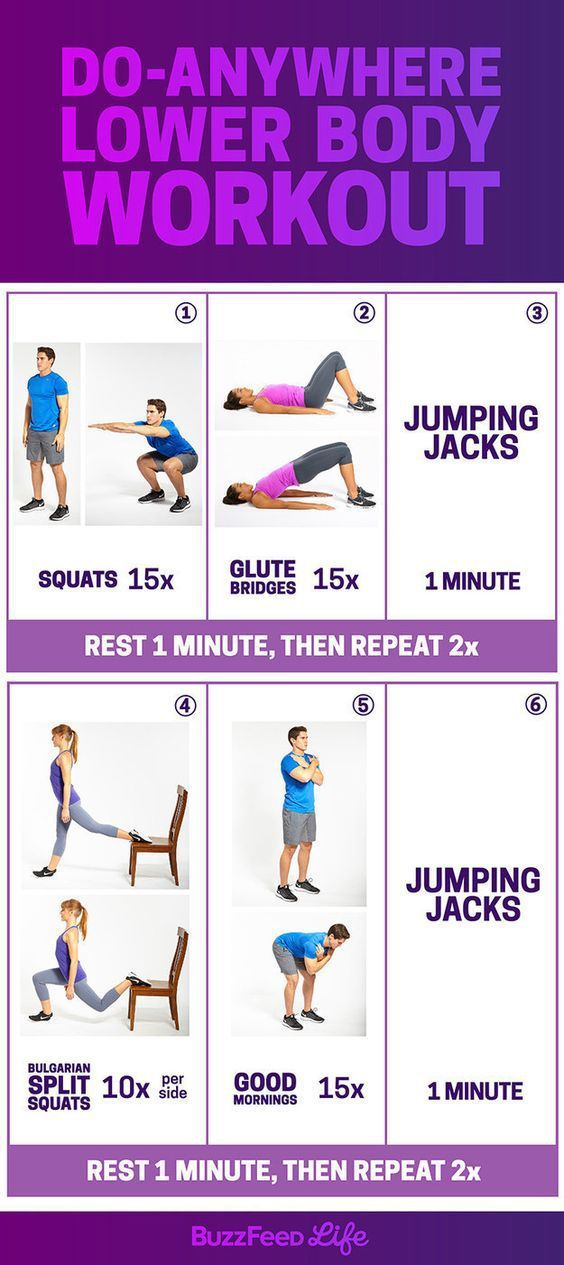 Do-Anywhere Lower Body Workout
