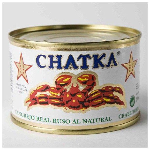 La tienda online 'Érase un gourmet' ofrece estas deliciosas patas de chatka al natural. Cangrejo real ruso de calidad.