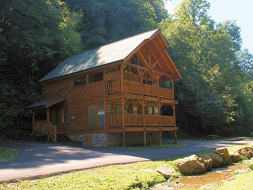 Fountain of youth gatlinburg pigeon forge pet friendly for Gatlinburg dollywood cabins