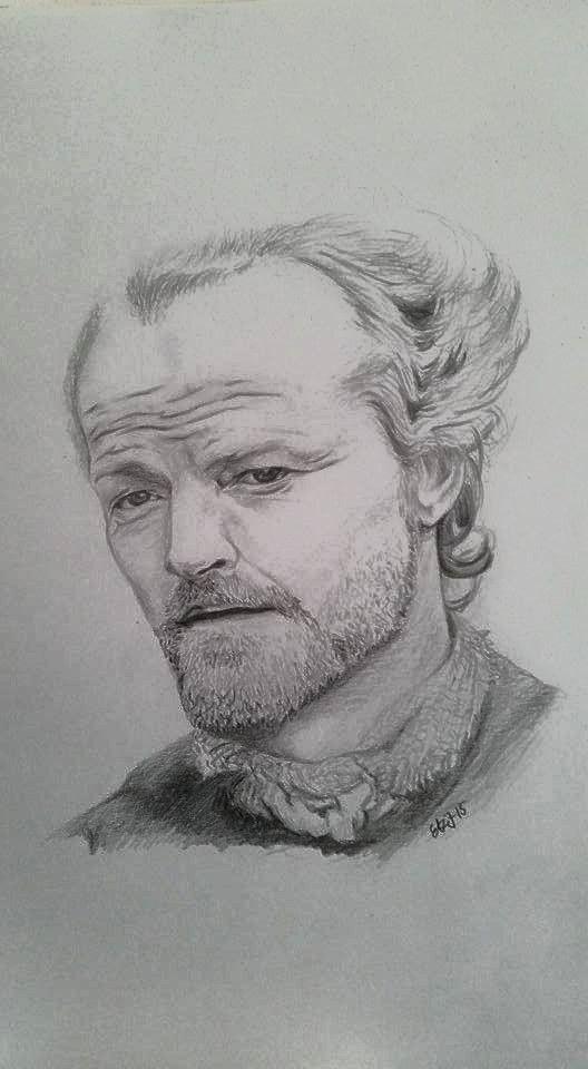 Jorah Mormont, Iain Glen, Game of Thrones, GoT.