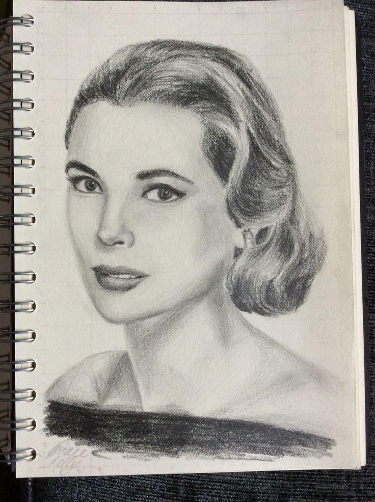 Grace Kelly sketch