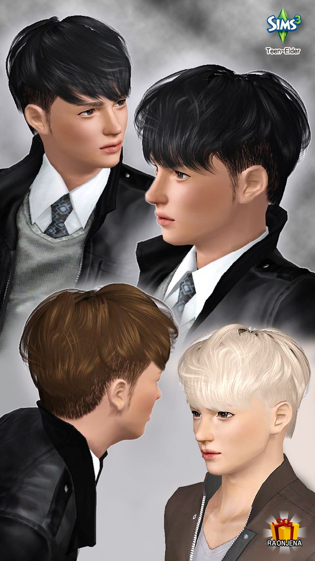 Connu 31 best Coupe cheveux Homme - Sims3 images on Pinterest  QZ03