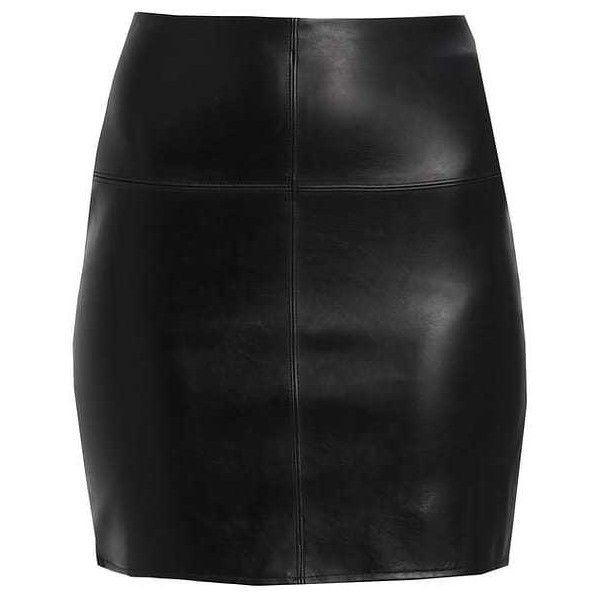Blyantnederdel pencil skirts black ZALANDO ❤ liked on Polyvore featuring skirts, knee length pencil skirt and pencil skirt