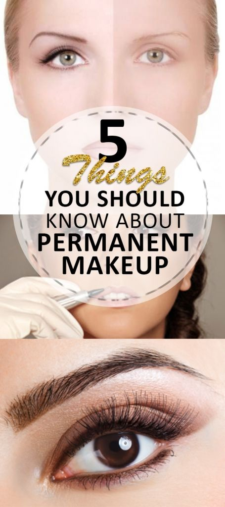 6 Things You Should Know About Permanent Makeup (good to know about the type of ink to use and what kind of tool!!)