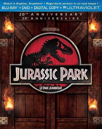 Jurassic Park (Blu-ray/DVD, 2013, 2-Disc Set, Canadian)