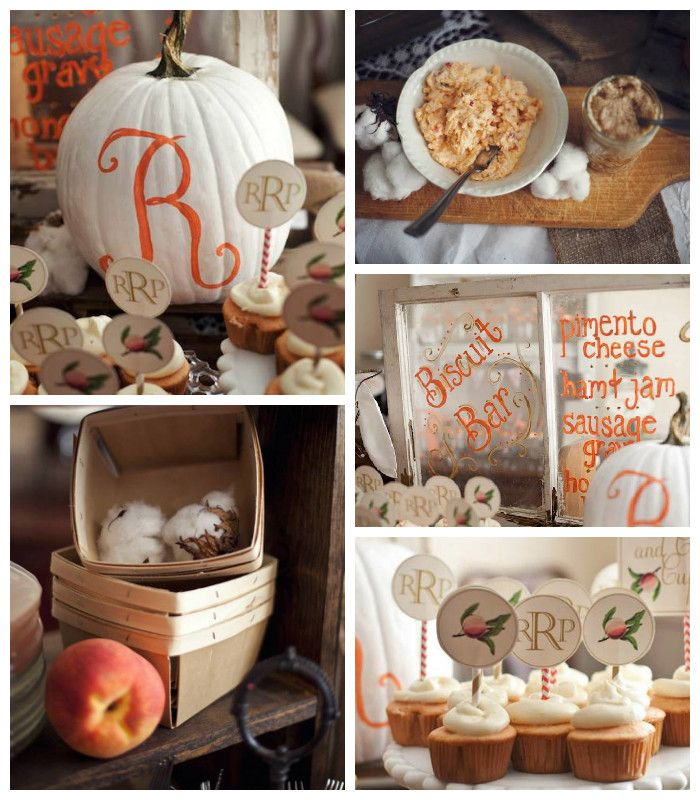 Sweet Georgia Peach Baby Shower   Good Inspiration For A Fun Birthday Or  Harvest Party