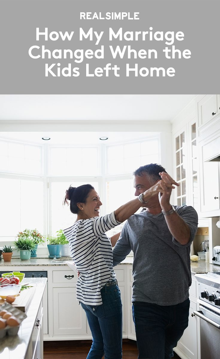 The Surprising Way My Marriage Changed When the Kids Left Home | Eat like slobs? Yes. Walk around the house naked? Sure. Swear like sailors? Of course! After tearfully bidding good-bye to their college-bound kids, Ann Leary and her husband discovered that the empty-nest syndrome was, well, for the birds.