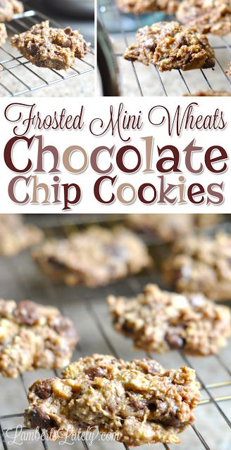 Frosted Mini Wheats Chocolate Chip Cookies - this is a definite go-to cookie recipe!  The cereal adds the perfect crunch and texture.