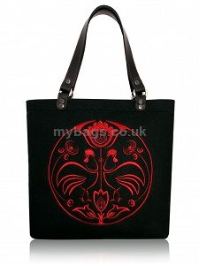 GOSHICO embroidered tote bag  http://mybags.co.uk/goshico-embroidered-tote-bag-598.html