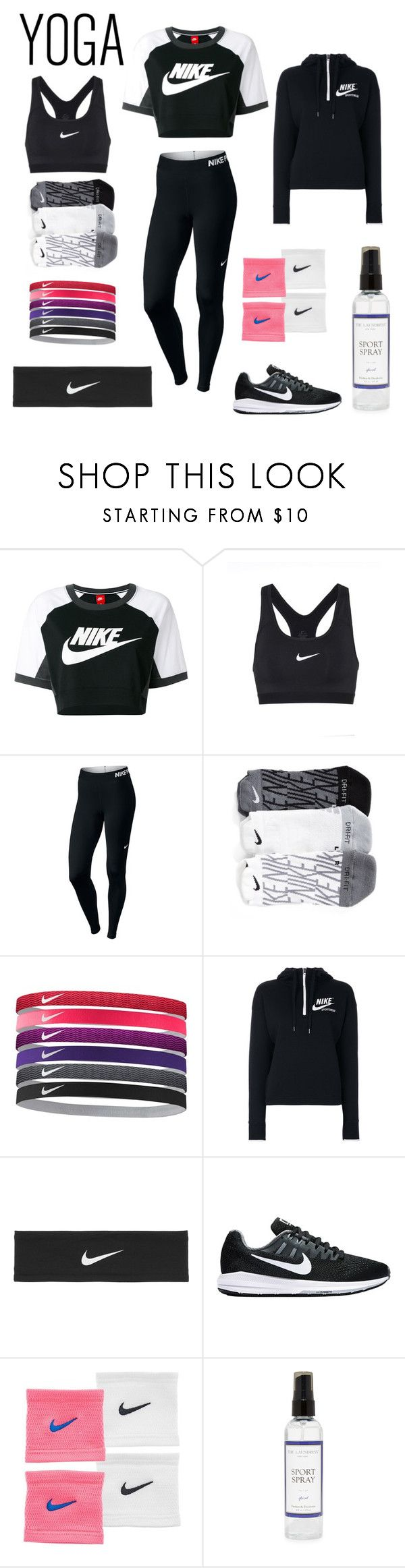 """""""Untitled #11"""" by paula-sumina ❤ liked on Polyvore featuring NIKE and The Laundress"""